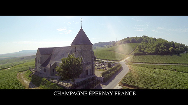Champagne France Aerial View